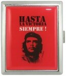 Портсигар CHE GUEVARA CASE SM / red Silver Match 673121(1A)